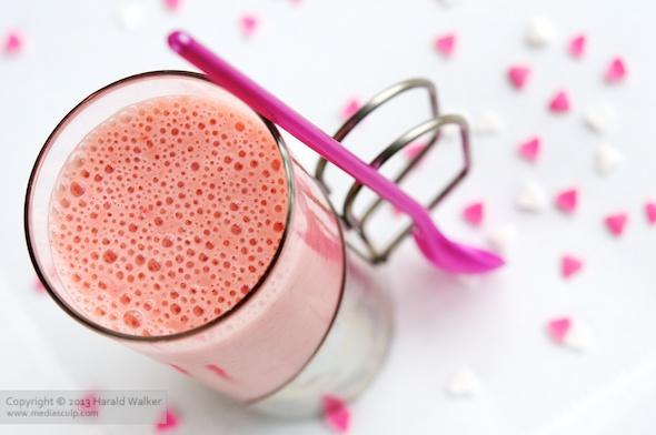 Erdbeer-Rhabarber Smoothie